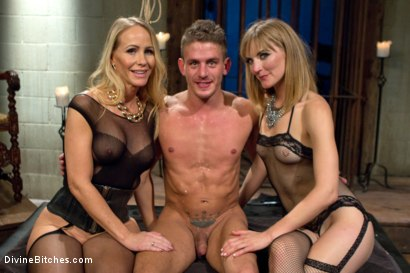 Photo number 5 from Stepmother And Daughter Dominating Duo shot for divinebitches on Kink.com. Featuring Mona Wales, Simone Sonay and Alexander Gustavo in hardcore BDSM & Fetish porn.