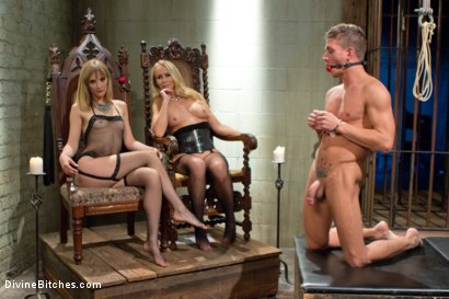 Photo number 10 from Stepmother And Daughter Dominating Duo shot for divinebitches on Kink.com. Featuring Mona Wales, Simone Sonay and Alexander Gustavo in hardcore BDSM & Fetish porn.