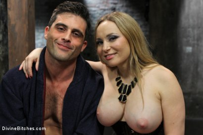Photo number 5 from Relentless Milking shot for Divine Bitches on Kink.com. Featuring Lance Hart and Aiden Starr in hardcore BDSM & Fetish porn.