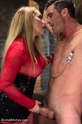 Photo number 1 from Relentless Milking shot for Divine Bitches on Kink.com. Featuring Lance Hart and Aiden Starr in hardcore BDSM & Fetish porn.