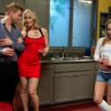 Bill Bailey submits the babysitter Carter Cruise to his dick and his commands