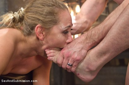 Photo number 11 from The Babysitter shot for Sex And Submission on Kink.com. Featuring Carter Cruise and Bill Bailey in hardcore BDSM & Fetish porn.