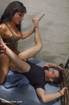 Photo number 4 from Star pupil turned hungry slut fucks student with her dominating cock! shot for TS Seduction on Kink.com. Featuring Lance Hart and Jaquelin Braxton in hardcore BDSM & Fetish porn.