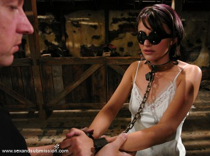Photo number 2 from Naudia Nyce and Chris Charming shot for Sex And Submission on Kink.com. Featuring Chris Charming and Naudia Nyce in hardcore BDSM & Fetish porn.