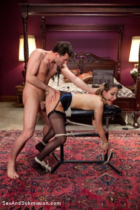 Photo number 16 from The Courier shot for Sex And Submission on Kink.com. Featuring James Deen and Mystica Jade in hardcore BDSM & Fetish porn.