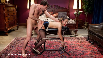 Photo number 5 from The Courier shot for Sex And Submission on Kink.com. Featuring James Deen and Mystica Jade in hardcore BDSM & Fetish porn.