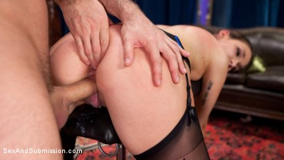 Photo number 7 from The Courier shot for Sex And Submission on Kink.com. Featuring James Deen and Mystica Jade in hardcore BDSM & Fetish porn.