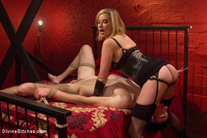 Photo number 12 from Fuck You Like I Mean It shot for Divine Bitches on Kink.com. Featuring Maitresse Madeline Marlowe  and Artemis Faux in hardcore BDSM & Fetish porn.