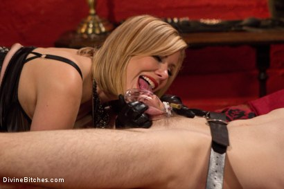 Photo number 11 from Fuck You Like I Mean It shot for Divine Bitches on Kink.com. Featuring Maitresse Madeline Marlowe  and Artemis Faux in hardcore BDSM & Fetish porn.