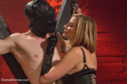 Photo number 10 from Fuck You Like I Mean It shot for Divine Bitches on Kink.com. Featuring Maitresse Madeline Marlowe  and Artemis Faux in hardcore BDSM & Fetish porn.