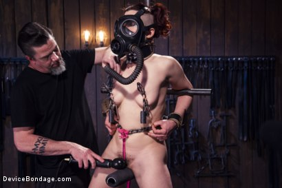 Photo number 2 from Breaking Ingrid Mouth shot for Device Bondage on Kink.com. Featuring Ingrid Mouth in hardcore BDSM & Fetish porn.