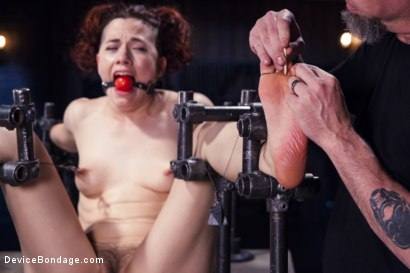 Photo number 6 from Breaking Ingrid Mouth shot for Device Bondage on Kink.com. Featuring Ingrid Mouth in hardcore BDSM & Fetish porn.