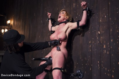 Photo number 2 from Darling's Decimation! shot for Device Bondage on Kink.com. Featuring Orlando and Dee Williams in hardcore BDSM & Fetish porn.