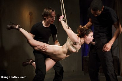 Photo number 12 from Double Dose of Cock!! shot for Dungeon Sex on Kink.com. Featuring Juliette March, Owen Gray and Mickey Mod in hardcore BDSM & Fetish porn.