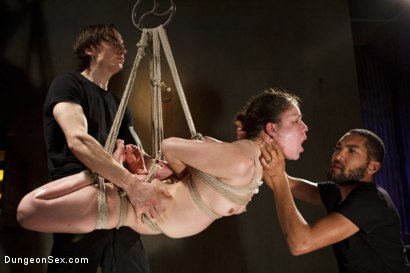Photo number 13 from Double Dose of Cock!! shot for Dungeon Sex on Kink.com. Featuring Juliette March, Owen Gray and Mickey Mod in hardcore BDSM & Fetish porn.