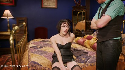 Photo number 7 from Dominance & Submission Basics (Clothing & Orgasm Control / Humiliation) shot for Kink University on Kink.com. Featuring Terralthra  and Ransom in hardcore BDSM & Fetish porn.