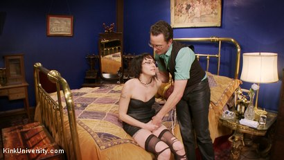 Photo number 9 from Dominance & Submission Basics (Clothing & Orgasm Control / Humiliation) shot for Kink University on Kink.com. Featuring Terralthra  and Ransom in hardcore BDSM & Fetish porn.