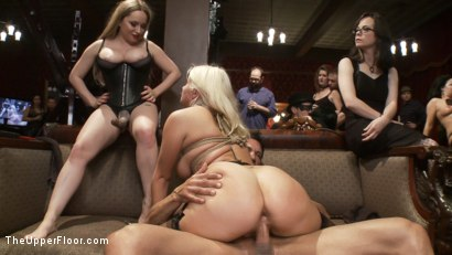 Photo number 10 from Come Shot Orgy on the Upper Floor shot for The Upper Floor on Kink.com. Featuring Penny Pax, Marco Banderas, Aiden Starr and Layla Price in hardcore BDSM & Fetish porn.
