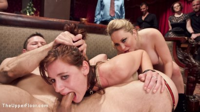 Photo number 1 from Latex Slave Girl Anally Debased By Dick Hungry Governess shot for The Upper Floor on Kink.com. Featuring John Strong, Aiden Starr and Audrey Holiday in hardcore BDSM & Fetish porn.