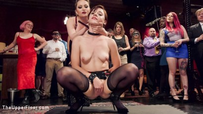 Photo number 14 from Latex Slave Girl Anally Debased By Dick Hungry Governess shot for The Upper Floor on Kink.com. Featuring John Strong, Aiden Starr and Audrey Holiday in hardcore BDSM & Fetish porn.