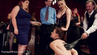 Photo number 16 from Latex Slave Girl Anally Debased By Dick Hungry Governess shot for The Upper Floor on Kink.com. Featuring John Strong, Aiden Starr and Audrey Holiday in hardcore BDSM & Fetish porn.