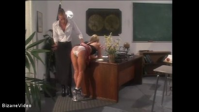 Photo number 1 from Schoolgirl Spanking shot for Bizarre Video on Kink.com. Featuring  in hardcore BDSM & Fetish porn.