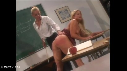 Photo number 15 from Schoolgirl Spanking shot for Bizarre Video on Kink.com. Featuring  in hardcore BDSM & Fetish porn.