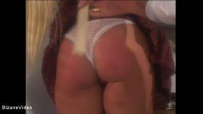 Photo number 5 from Schoolgirl Spanking shot for Bizarre Video on Kink.com. Featuring  in hardcore BDSM & Fetish porn.