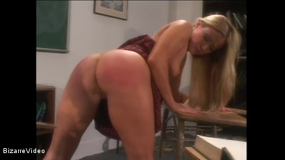 Photo number 7 from Schoolgirl Spanking shot for Bizarre Video on Kink.com. Featuring  in hardcore BDSM & Fetish porn.