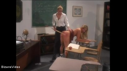 Photo number 8 from Schoolgirl Spanking shot for Bizarre Video on Kink.com. Featuring  in hardcore BDSM & Fetish porn.