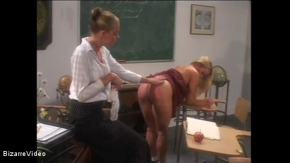 Photo number 10 from Schoolgirl Spanking shot for Bizarre Video on Kink.com. Featuring  in hardcore BDSM & Fetish porn.