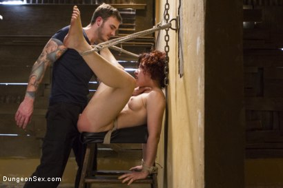 Photo number 12 from Ingrid Likes it Rough shot for Dungeon Sex on Kink.com. Featuring Christian Wilde and Ingrid Mouth in hardcore BDSM & Fetish porn.