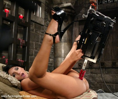 Photo number 7 from Girls from Sybian Heaven shot for Fucking Machines on Kink.com. Featuring Persia DeCarlo in hardcore BDSM & Fetish porn.