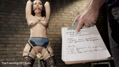 Photo number 1 from No Whining: Gabbriella Day Two shot for The Training Of O on Kink.com. Featuring Gabriella Paltrova and Owen Gray in hardcore BDSM & Fetish porn.