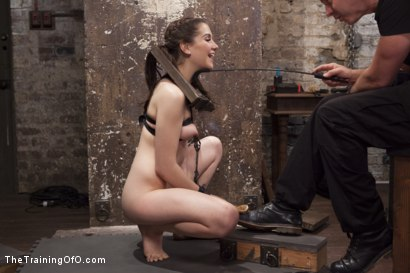 Photo number 3 from Slave Training Nineteen Year Old Kasey Warner, Day One shot for The Training Of O on Kink.com. Featuring Owen Gray and Kasey Warner in hardcore BDSM & Fetish porn.