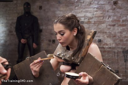 Photo number 2 from Slave Training Nineteen Year Old Kasey Warner, Day One shot for The Training Of O on Kink.com. Featuring Owen Gray and Kasey Warner in hardcore BDSM & Fetish porn.