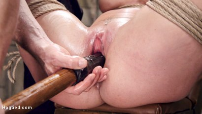 Photo number 14 from Bound Huge Fake Tit MILF shot for Hogtied on Kink.com. Featuring Shay Fox in hardcore BDSM & Fetish porn.