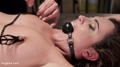 Photo number 13 from Wrong Place at the Wrong Time shot for Hogtied on Kink.com. Featuring Roxanne Rae in hardcore BDSM & Fetish porn.