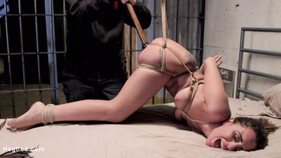 Photo number 2 from Wrong Place at the Wrong Time shot for Hogtied on Kink.com. Featuring Roxanne Rae in hardcore BDSM & Fetish porn.