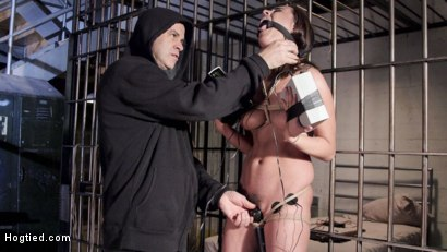 Photo number 4 from Wrong Place at the Wrong Time shot for Hogtied on Kink.com. Featuring Roxanne Rae in hardcore BDSM & Fetish porn.