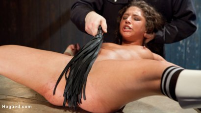 Photo number 10 from Hard Lesson to Learn shot for Hogtied on Kink.com. Featuring Abella Danger and Sgt. Major in hardcore BDSM & Fetish porn.