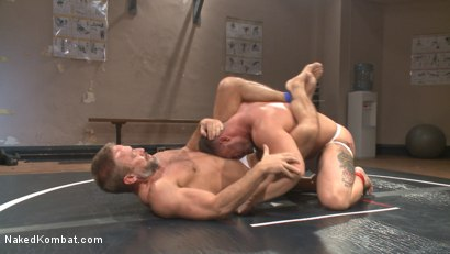 Photo number 2 from Top Cock: Muscled gods oil up their ripped bodies and fight to fuck! shot for Naked Kombat on Kink.com. Featuring Dirk Caber and Logan Blake in hardcore BDSM & Fetish porn.
