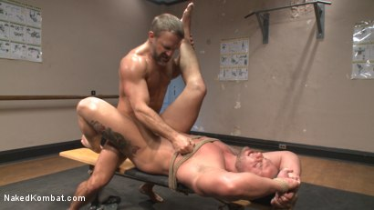 Photo number 14 from Top Cock: Muscled gods oil up their ripped bodies and fight to fuck! shot for Naked Kombat on Kink.com. Featuring Dirk Caber and Logan Blake in hardcore BDSM & Fetish porn.