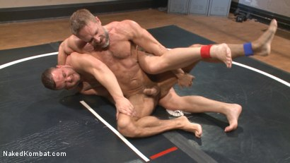 Photo number 3 from Top Cock: Muscled gods oil up their ripped bodies and fight to fuck! shot for Naked Kombat on Kink.com. Featuring Dirk Caber and Logan Blake in hardcore BDSM & Fetish porn.