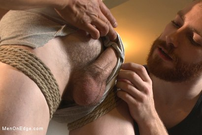 Photo number 3 from Straight southern stud's huge cock is almost too much to swallow shot for Men On Edge on Kink.com. Featuring Brian Strowkes in hardcore BDSM & Fetish porn.