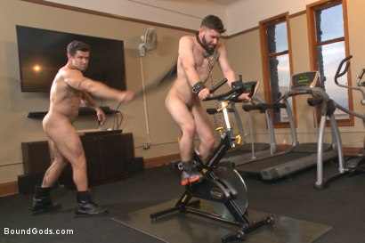Photo number 12 from Hot Gym Stud Tormented and Fucked by the Creepy Handyman shot for Bound Gods on Kink.com. Featuring Trenton Ducati and Jackson Fillmore in hardcore BDSM & Fetish porn.