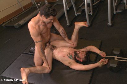 Photo number 13 from Hot Gym Stud Tormented and Fucked by the Creepy Handyman shot for Bound Gods on Kink.com. Featuring Trenton Ducati and Jackson Fillmore in hardcore BDSM & Fetish porn.