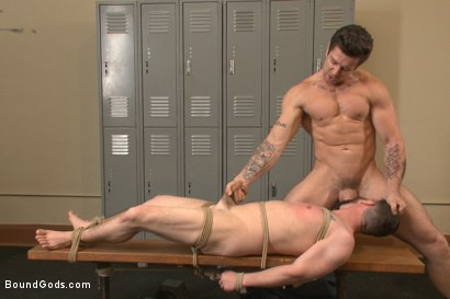 Photo number 7 from Hot Gym Stud Tormented and Fucked by the Creepy Handyman shot for Bound Gods on Kink.com. Featuring Trenton Ducati and Jackson Fillmore in hardcore BDSM & Fetish porn.