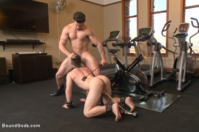 Photo number 9 from Hot Gym Stud Tormented and Fucked by the Creepy Handyman shot for Bound Gods on Kink.com. Featuring Trenton Ducati and Jackson Fillmore in hardcore BDSM & Fetish porn.