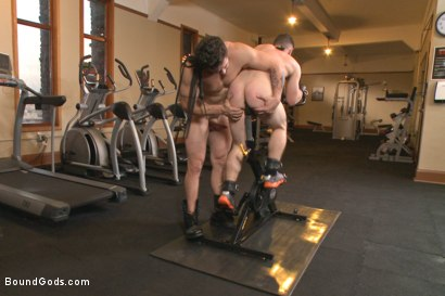 Photo number 10 from Hot Gym Stud Tormented and Fucked by the Creepy Handyman shot for Bound Gods on Kink.com. Featuring Trenton Ducati and Jackson Fillmore in hardcore BDSM & Fetish porn.